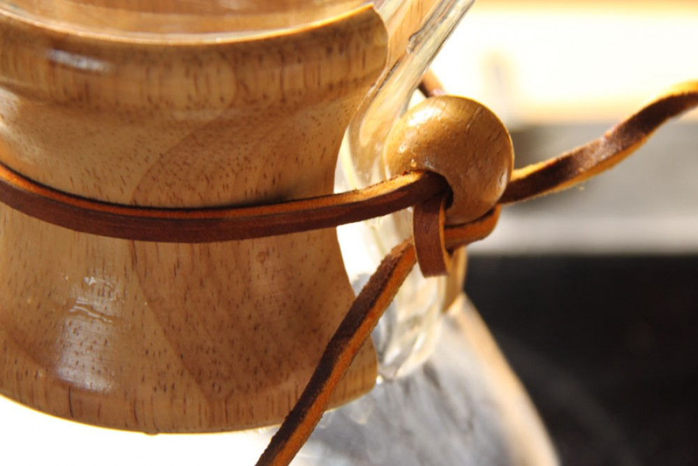 Chemex: Slow Coffee mit Patent