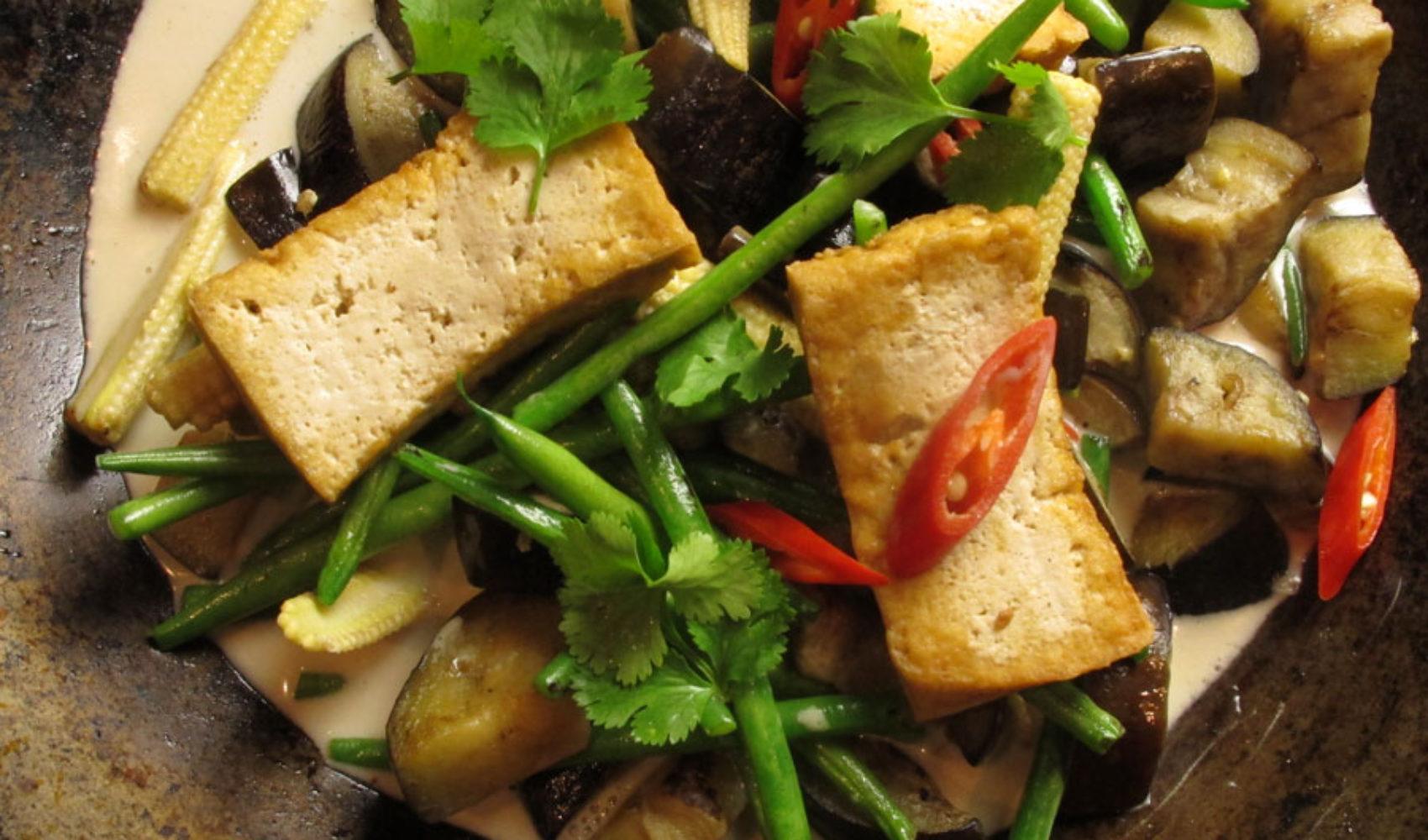 Gegen den Winterblues: Wok-Gemüse mit Tofu