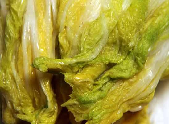 China kohl für kimchi
