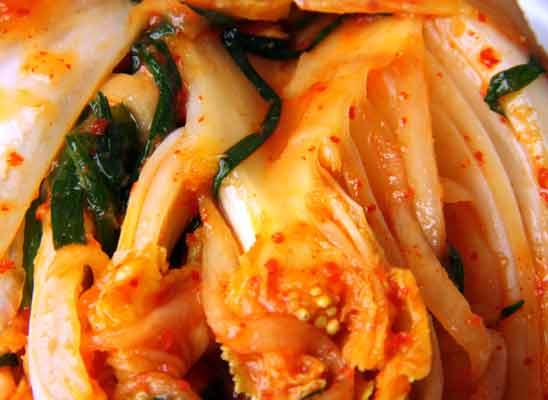 Kim chi Rezept