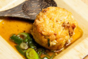 West meets East I: Tofu-Bällchen mit Garnelen