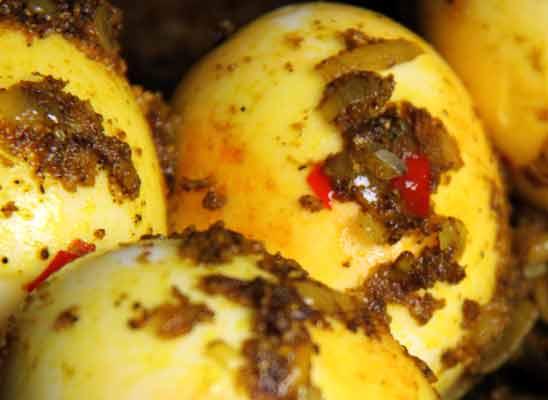 Rezepte Eier in bengalischer Soße