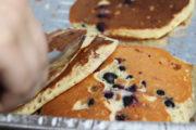 Kanadische Gastlichkeit auf der Stampede: Pfannkuchen für alle!