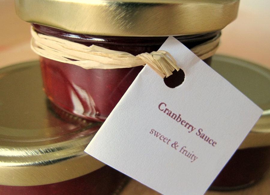 Rezept Cranberry Ketchup steinbauer-groetsch©2011