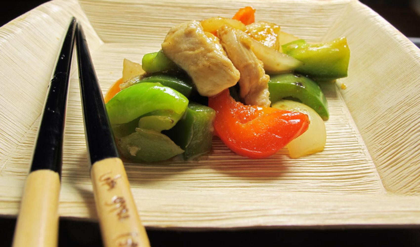 Huhn süß-sauer - EIN TOPF HEIMAT auf chinesisch