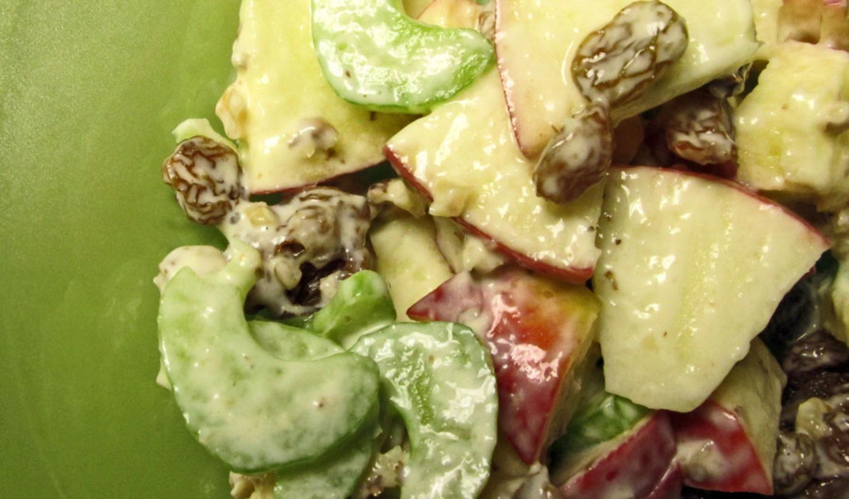 Frühstück-bei-Tiffany-Brunch: Waldorfsalat