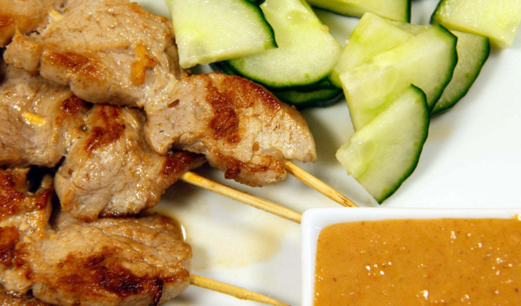 Selamat Makan - Guten Appetit mit Saté-Spießen