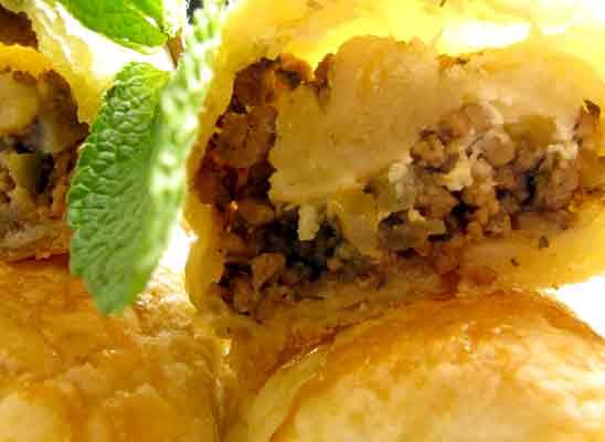 Lamm Kebab mit Couscous