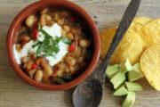 Tex-Mex ohne Fleisch: Vegetarisches Chili