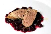 Schweinefilet mit Cranberry Sauce