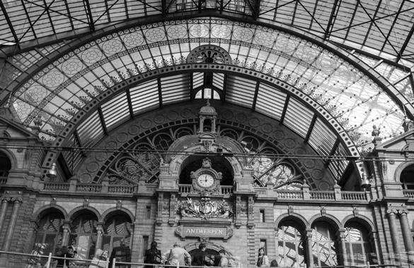 Central Station Antwerp