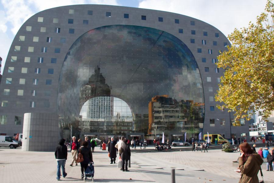 Markthal Rotterdam Neuer Hotspot Fur Foodies Rezepte Blog Ein
