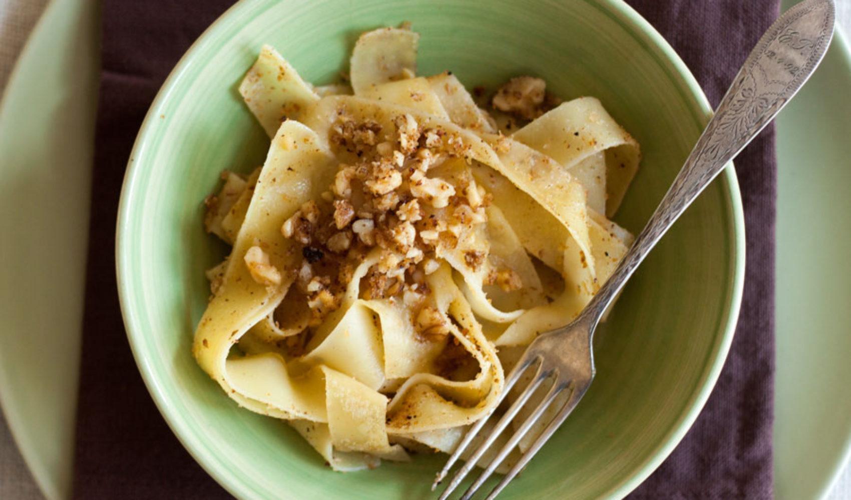 Pasta regional: Nudeln mit Apfelmus
