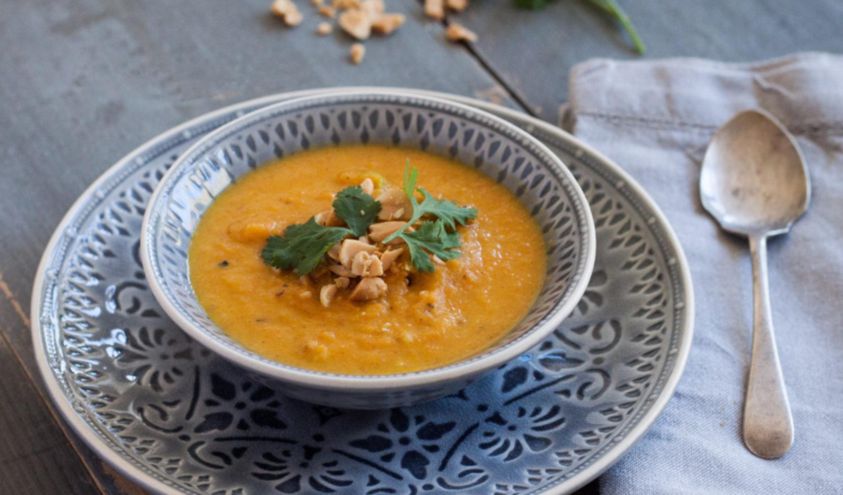 Karottensuppe und das Rätsel der orangefarbigen Karotte