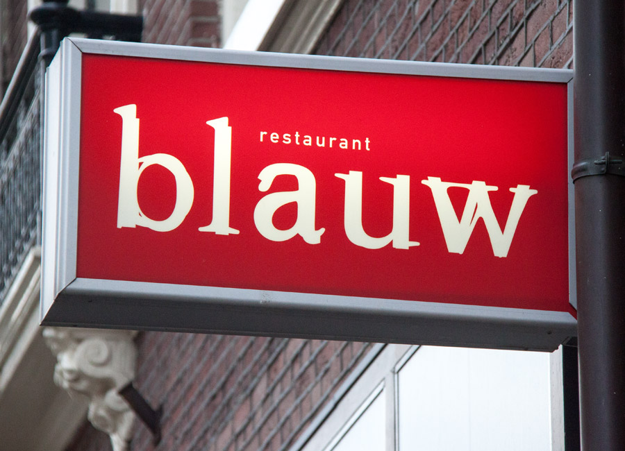 Resuatnat Blauw Den Haag