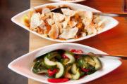 Indonesisch essen in Den Haag: Klassische Reistafel im Blauw070