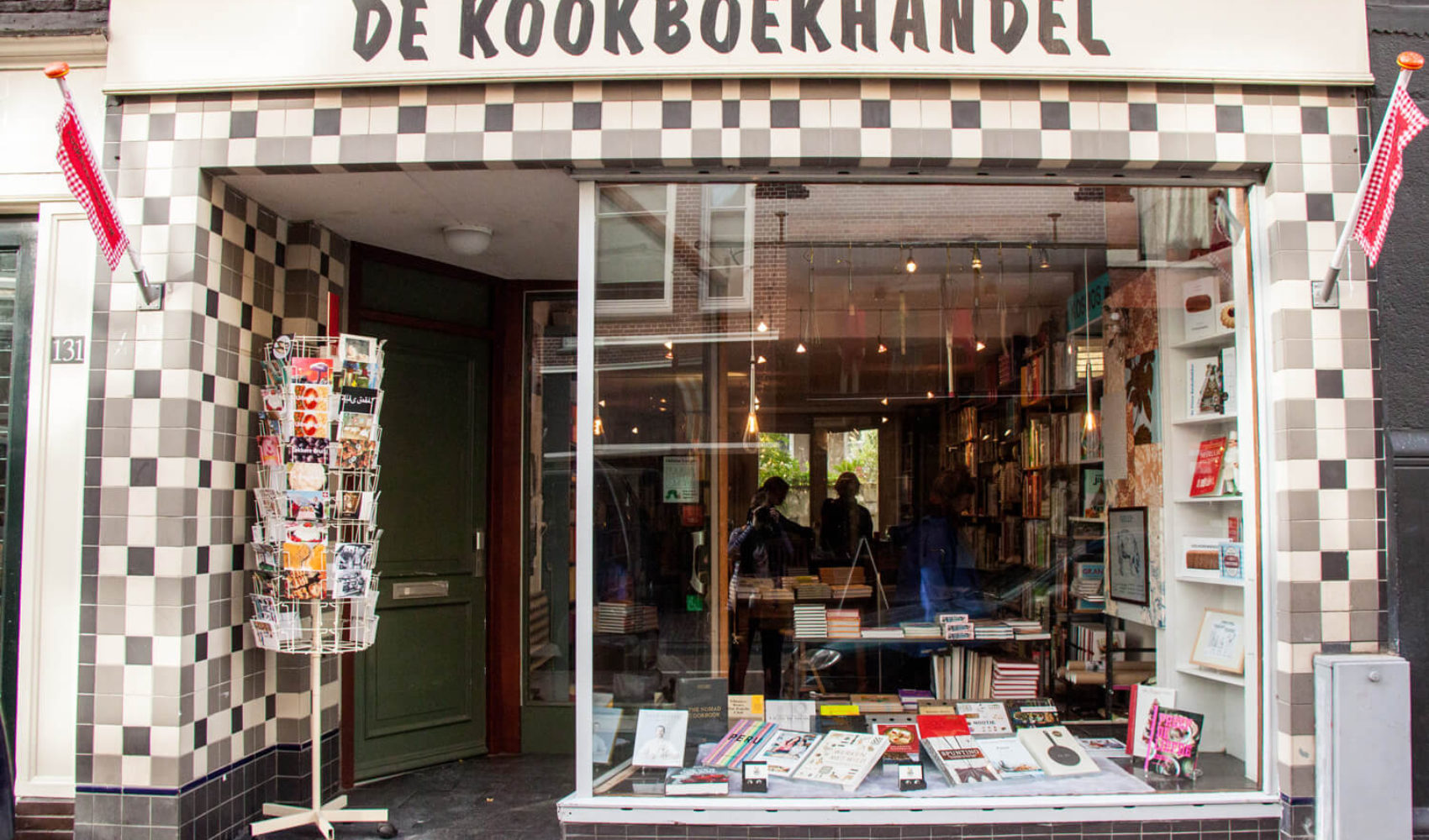 An Amsterdam Culinary Institution: Jonah Freud and Her Shop De Kookboekhandel