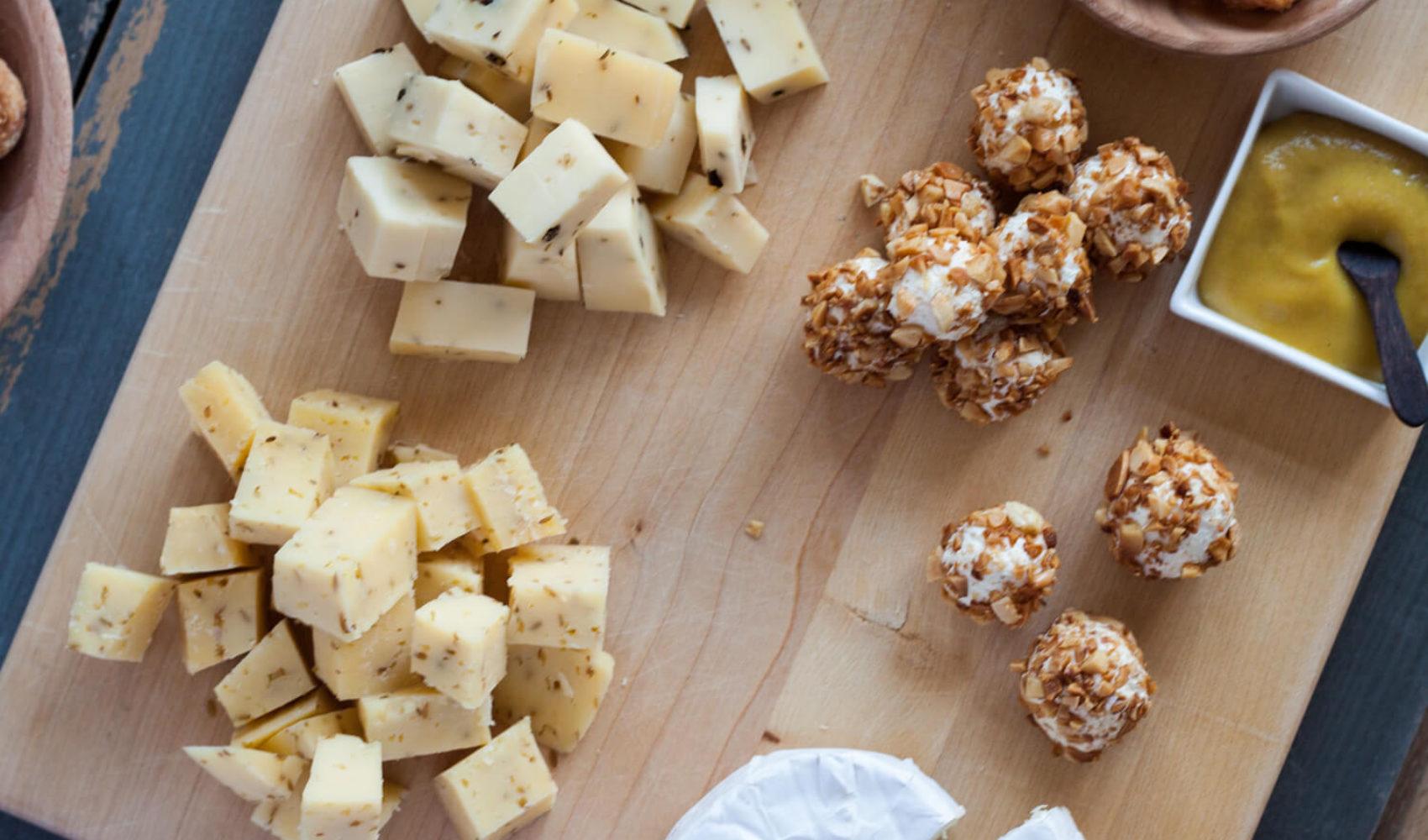 Borrelhapjes mit Käse -  garantiert mehr Zeit für Gäste