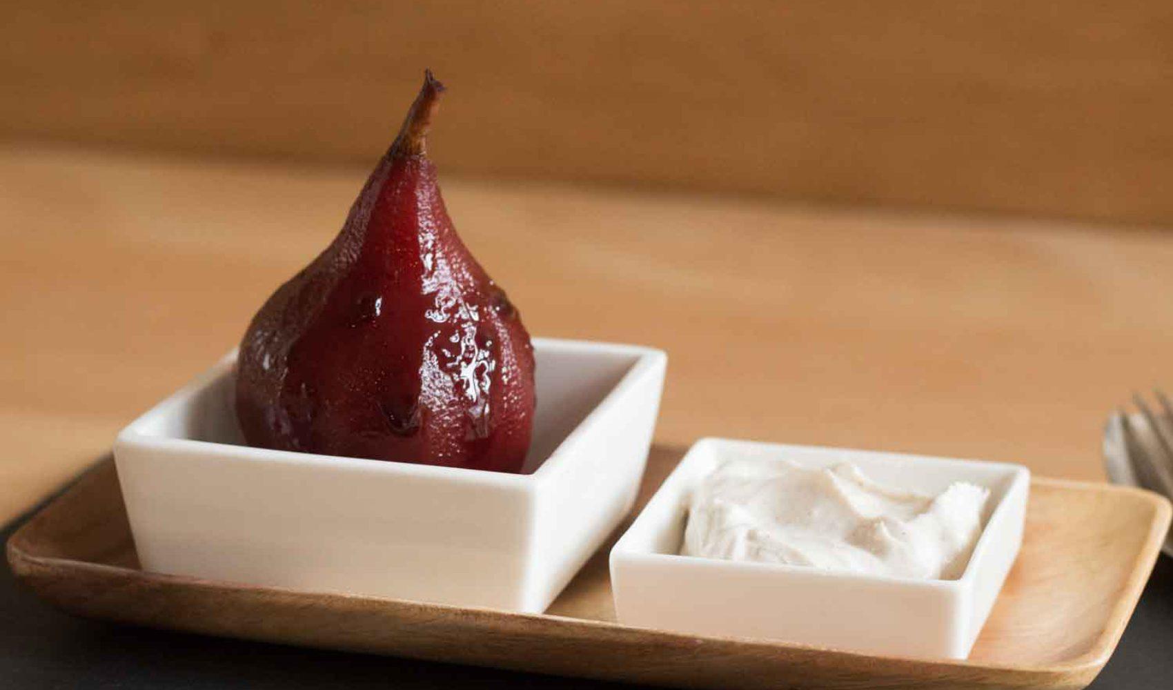 Zum Dessert: Birnen im Winterlook