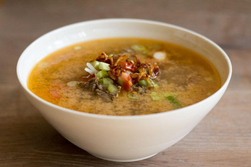 Jakarta Food Journal 6 - Rezepte: Soto Betawi