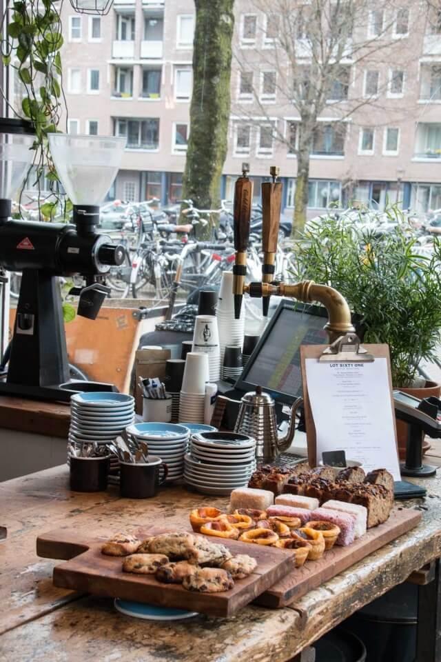 Kaffebar Lot Sixty One Amsterdam steinbauer-groetsch©2016