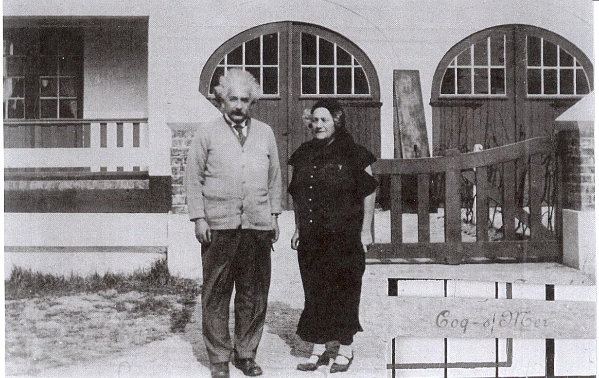 Einstein in De Haan copyright Gemeinde De Haan