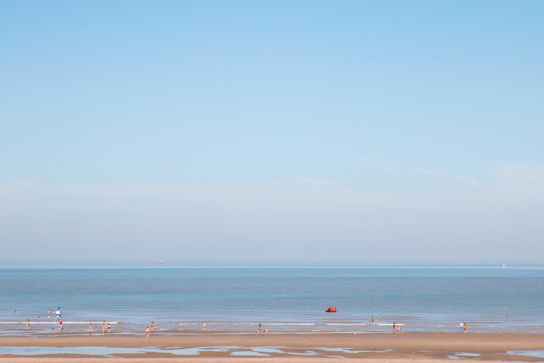 Küste Belgien De Haan