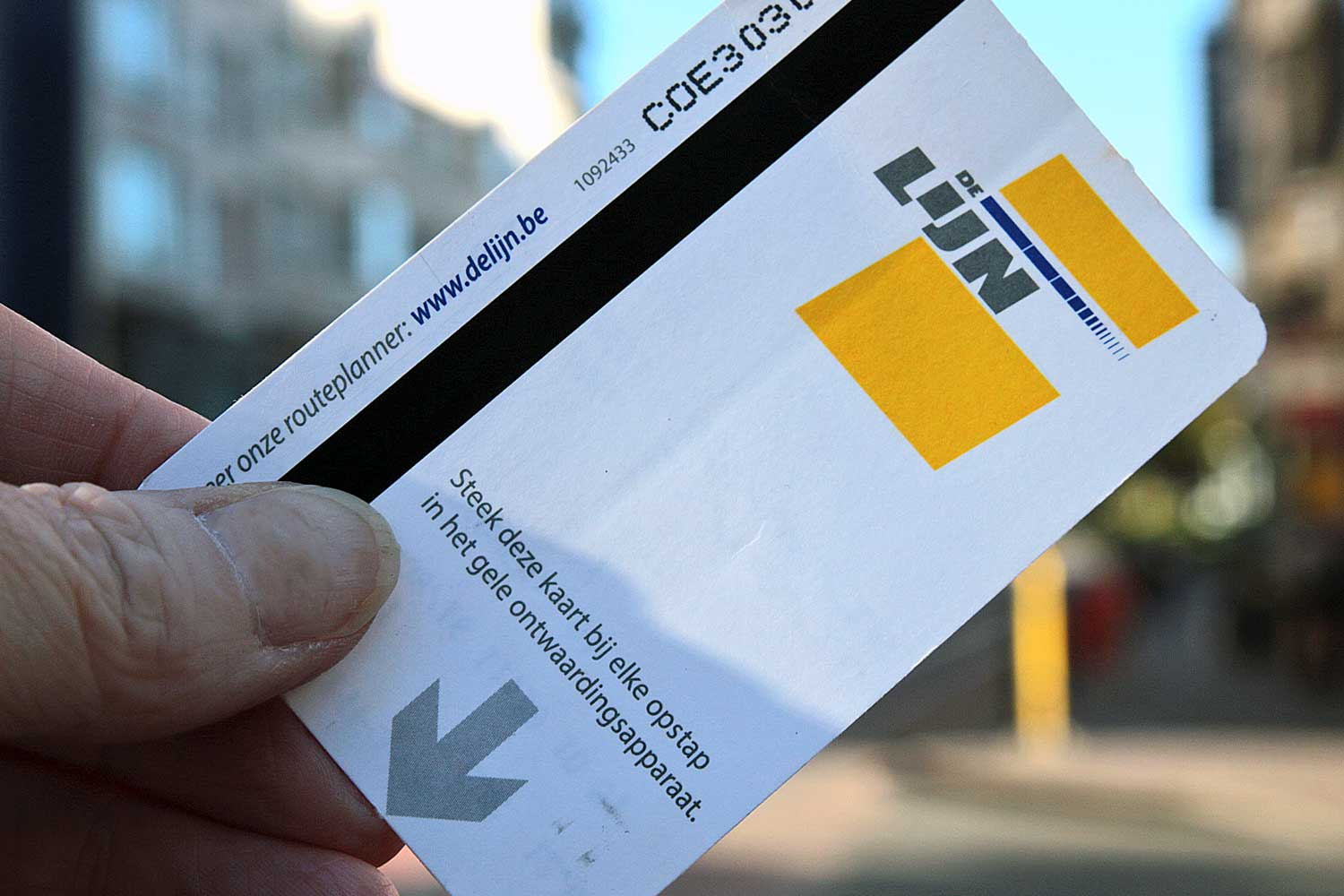 Ticket De Lijn