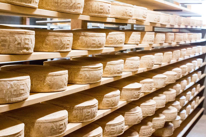 Remeker Käse Lagerung