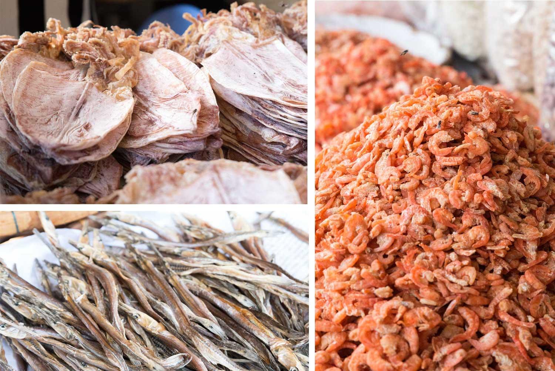 Trockenfisch Zentalmarkt Phnom Penh