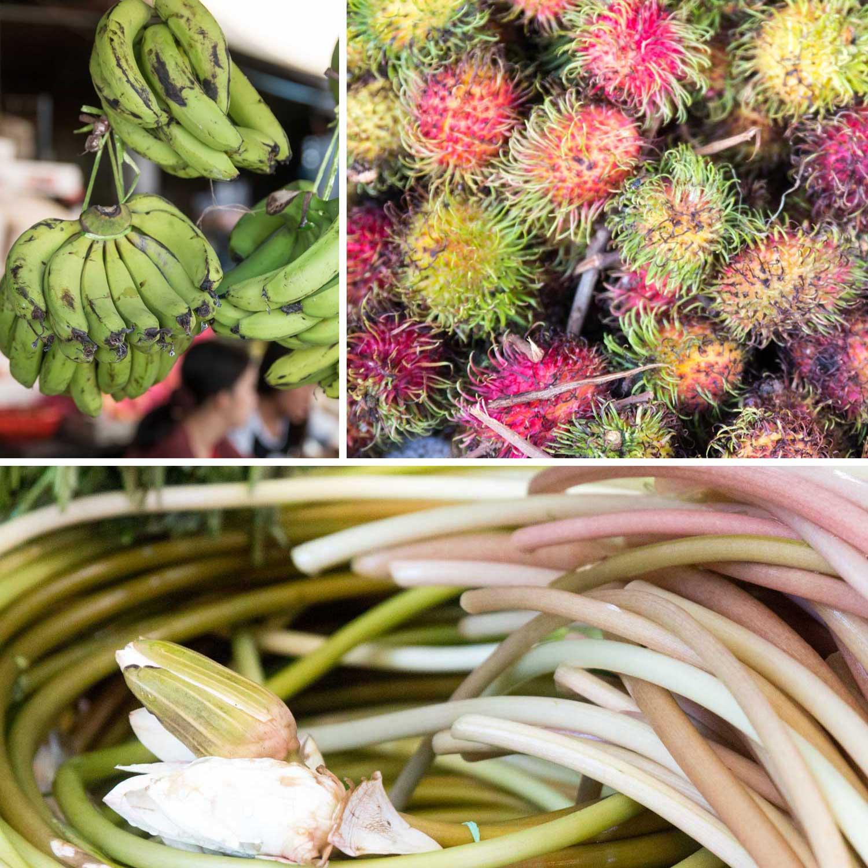 Markttreiben Phnom Penh