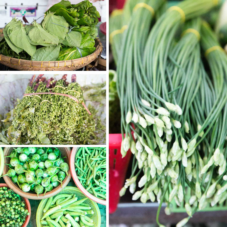 Gemüse Kambodscha