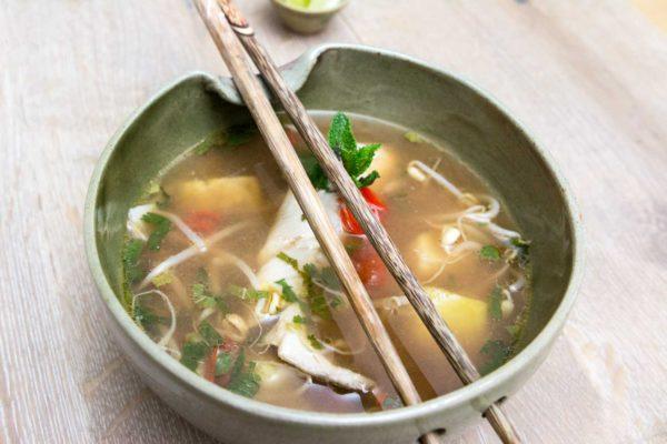 Rezept Saure Fischsuppe