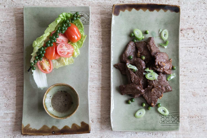 kambodschanische Küche Loc Lak