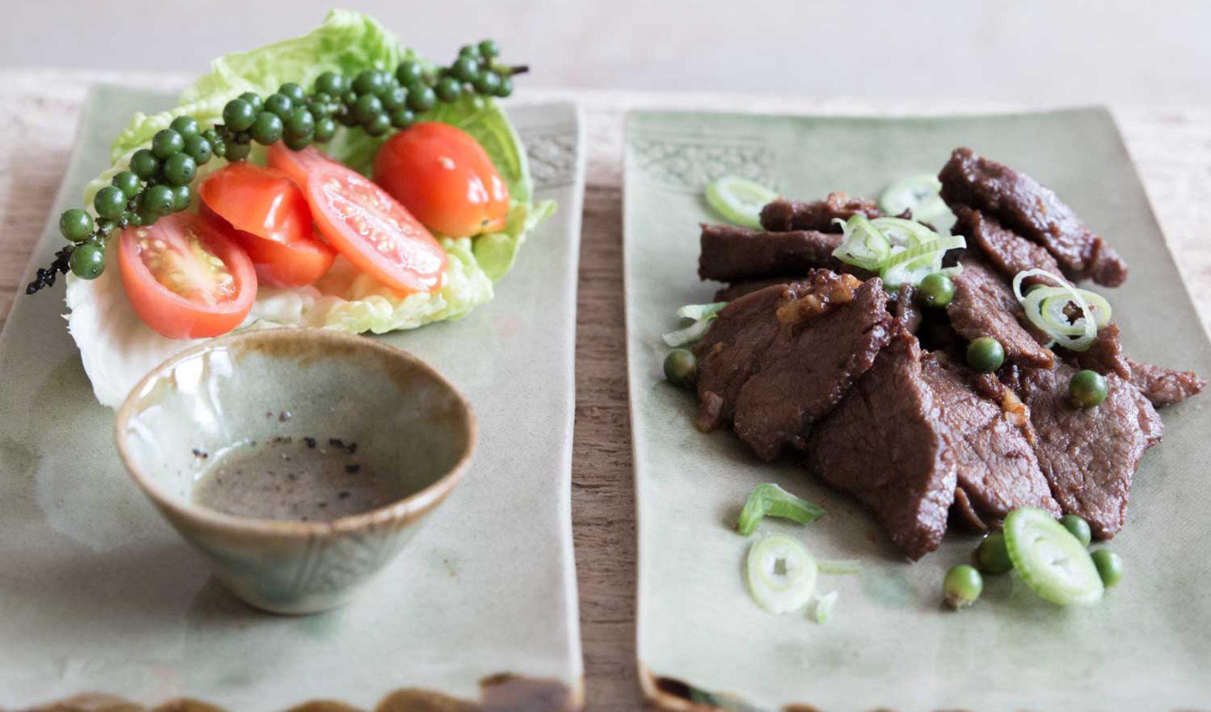 Loc Lak - Rezepte aus Kambodscha