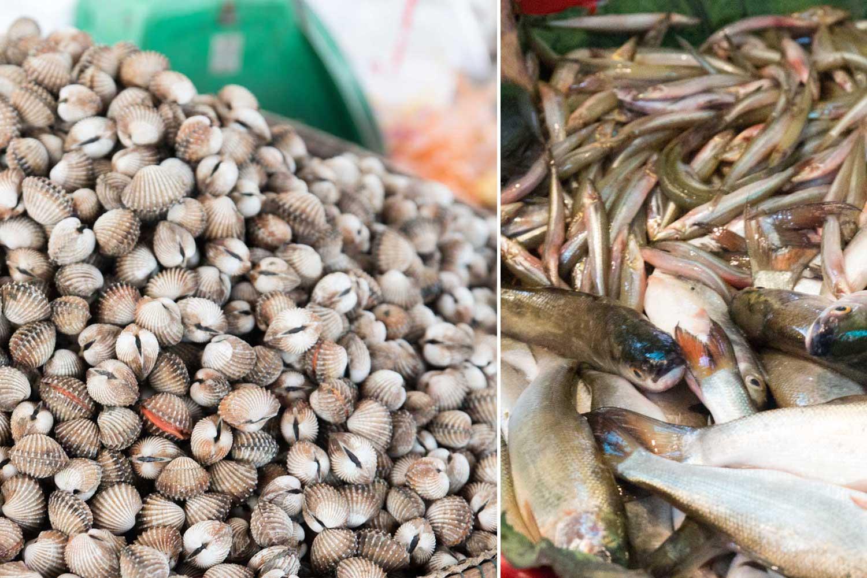 Küche Kambodscha Zutaten