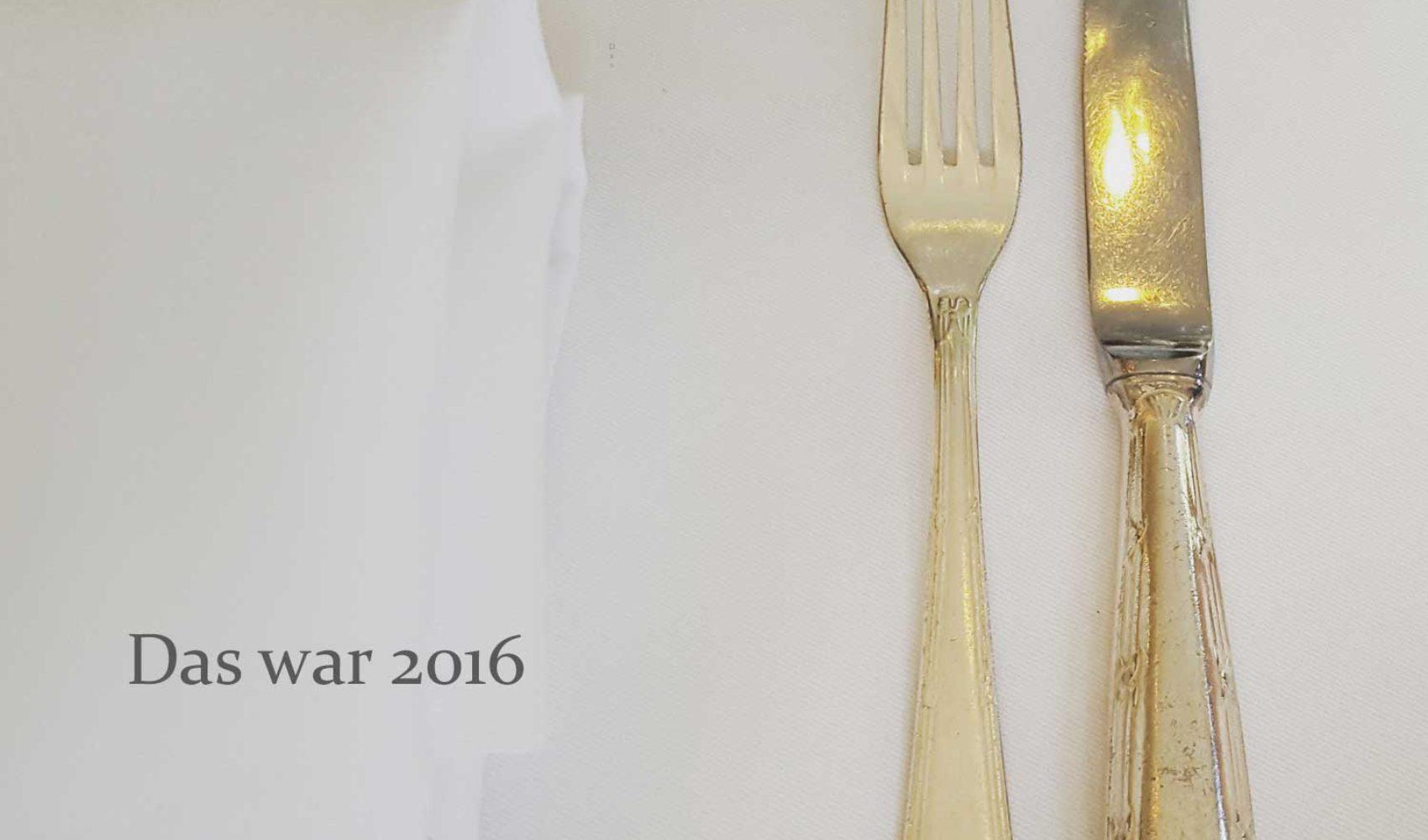 Jahresrückblick 2016 - EIN TOPF HEIMAT