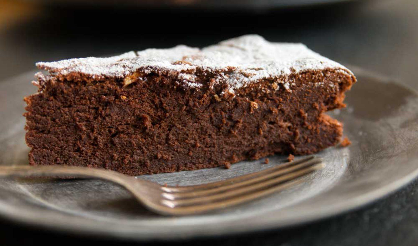 Schokoladenkuchen ohne Mehl à la Audrey Hepburn