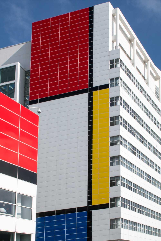 Kurzurlaub in Holland - Rathaus Den Haag