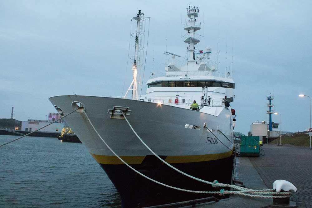 Kurzurlaub in Holland Schiffe Scheveningen