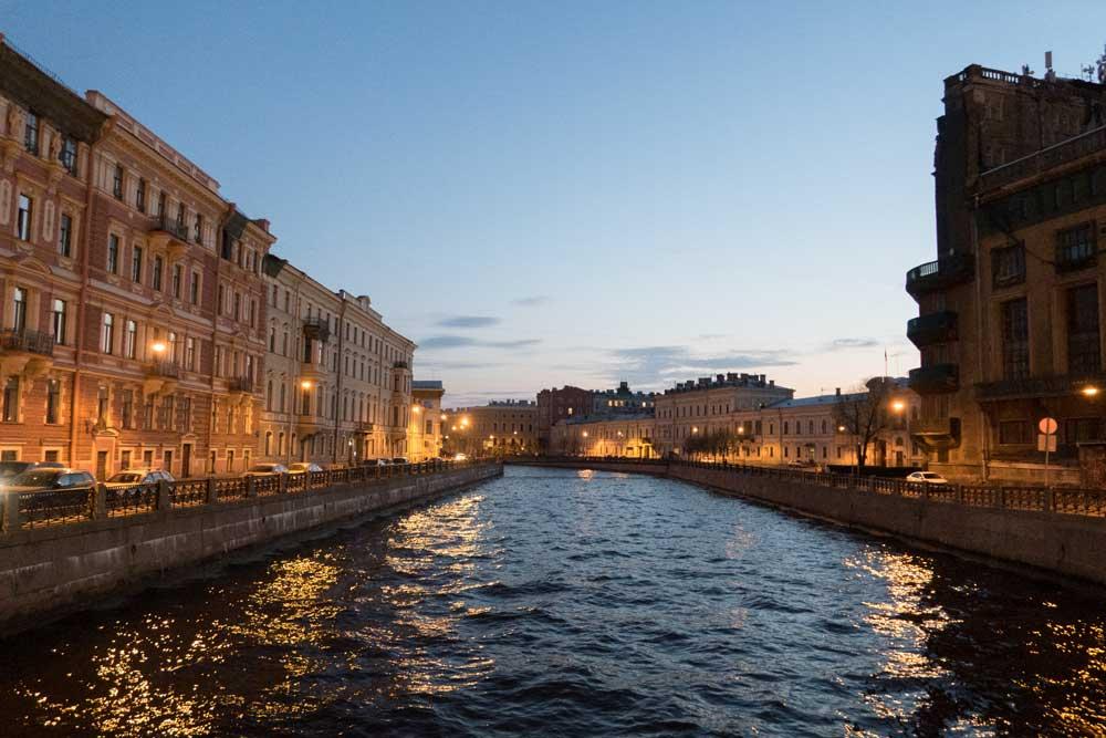 Weiße Nächte Sankt Petersburg