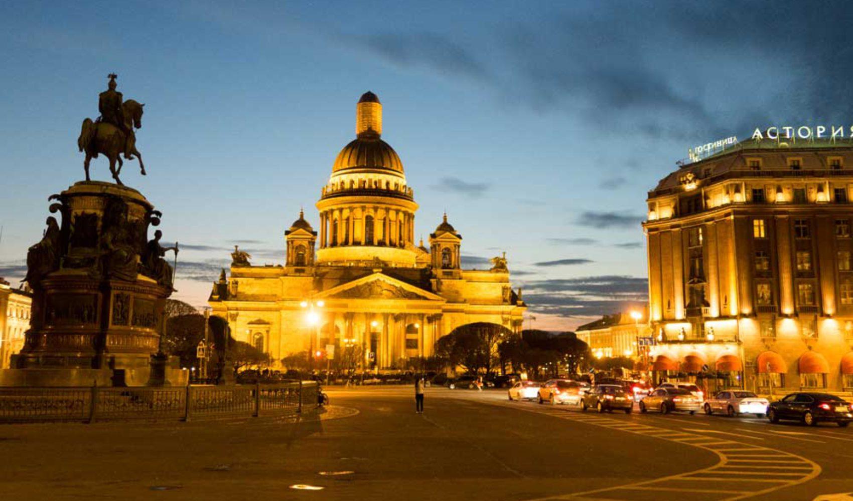 Sankt Petersburg: Weiße Nächte, goldene Kirchen und roter Kaviar