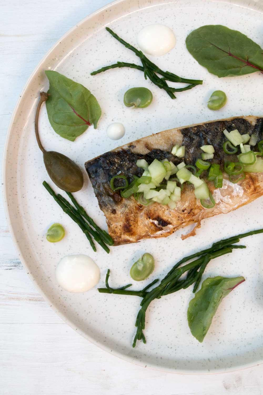 Makrelenfilet vom Grill Rezept