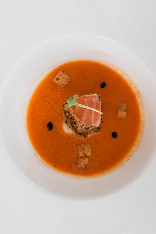 Küchengruss Restaurant Torkel