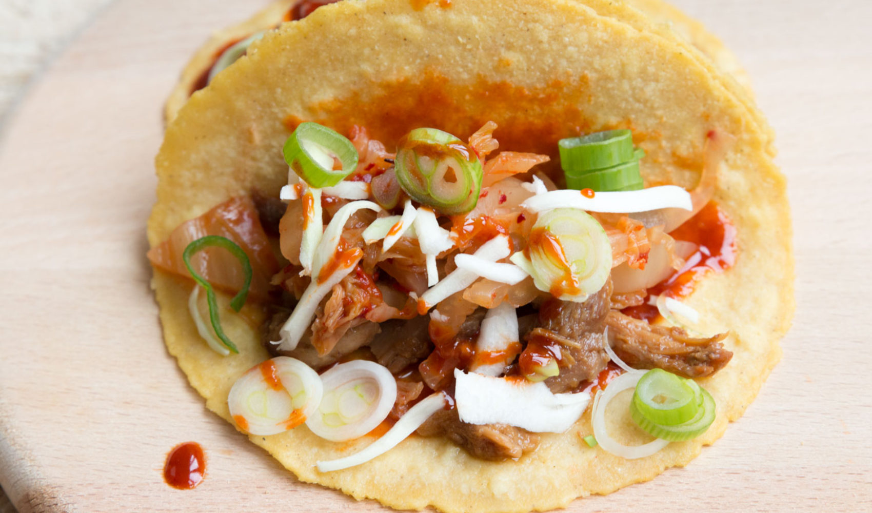 Tacomania I: Kimchi Taco Rezept