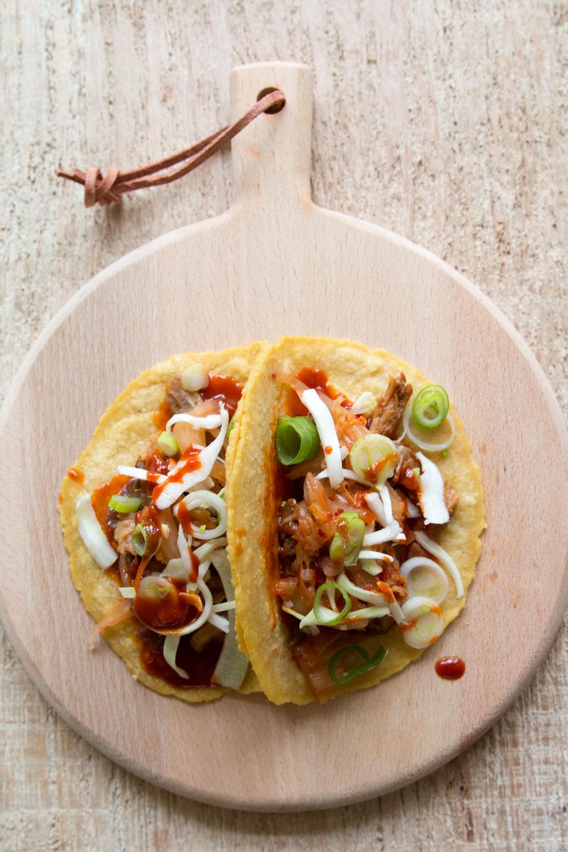 Kimchi Taco selber machen