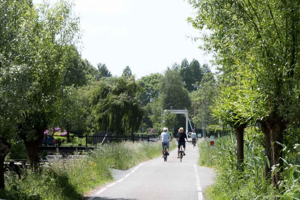 Radfahren um Gouda