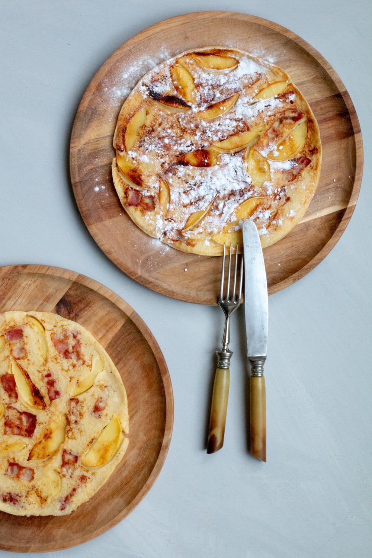 Rezept Apfel-Speck-Pfannkuchen aus Holland